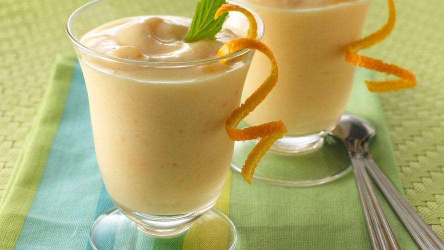 Smoothie od breskve i naranče